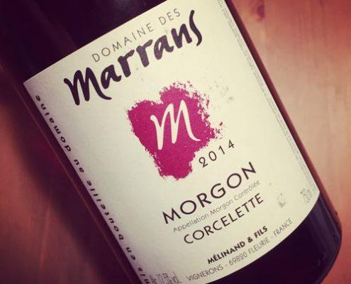 Domaine des Marrans Morgon Corcelette 2014