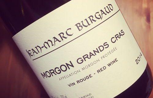 Jean-Marc Burgaud Morgon Grands Cras 2014
