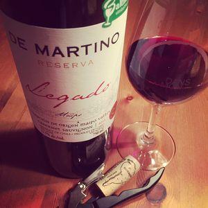 De Martino Legado Reserva Cabernet-Sauvignon Maipo 2013