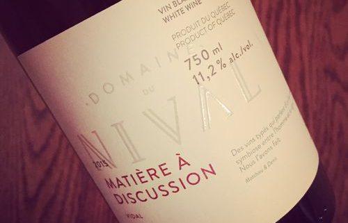 Domaine du Nival Matière à Discussion 2015