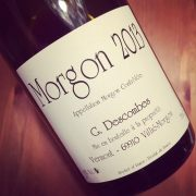Georges Descombes Morgon Vieilles Vignes 2013