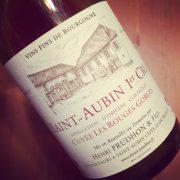 Henri Prudhon & Fils Saint-Aubin 1er Cru Les Rouges-Gorges 2009