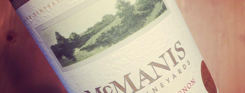 McManis Cabernet Sauvignon California 2015