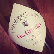 Pierre-Marie Chermette Gamay Nouveau Les Griottes 2016