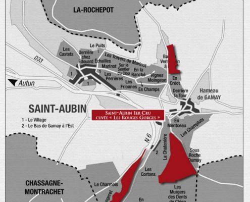 Saint Aubin 1er Cru Les Rouges Gorges