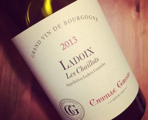 Camille Giroud Ladoix Les Chaillots 2013