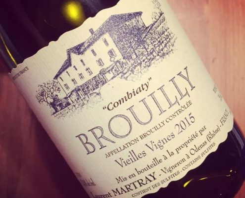 Domaine Laurent Martray Brouilly Combiaty 2015