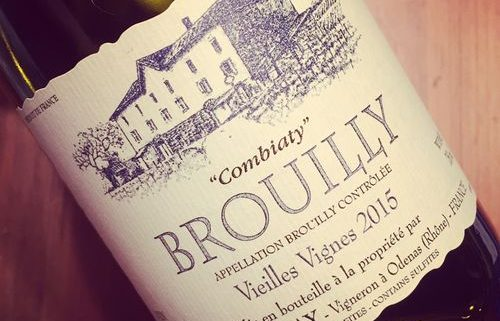 Domaine Laurent Martray Brouilly Combiaty 2015
