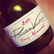 Henry Marionnet Première Vendange Touraine 2015