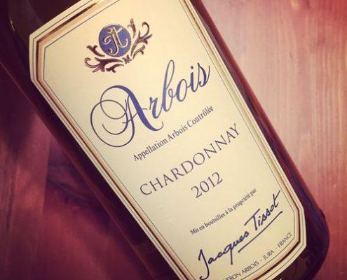 Jacques Tissot Chardonnay Arbois 2012