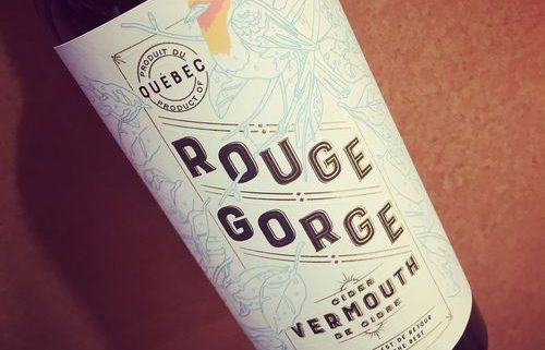 Les Vergers Lafrance Rouge Gorge Vermouth de pomme