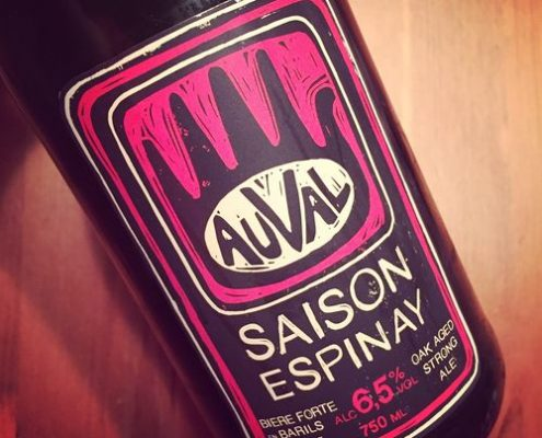 Brasserie Auval Saison Espinay