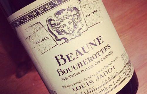 Domaine Louis Jadot Beaune 1er Cru Boucherottes 2012