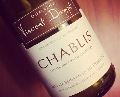 Domaine Vincent Dampt Chablis 2014