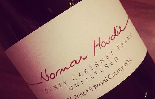 Norman Hardie County Cabernet Franc VQA Prince Edward County 2014