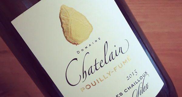 Domaine Chatelain Les Chailloux Silex Pouilly-Fumé 2015