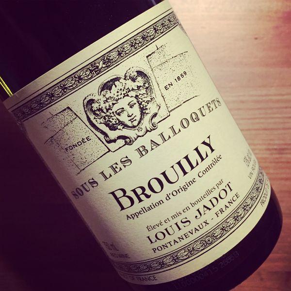 Maison Louis Jadot Brouilly Sous les Balloquets 2015