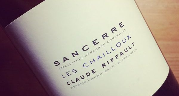 Claude Riffault Les Chailloux Sancerre 2014