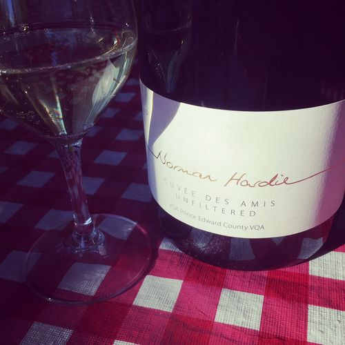Norman Hardie Cuvée des Amis Unfiltered VQA Prince Edward County 2014