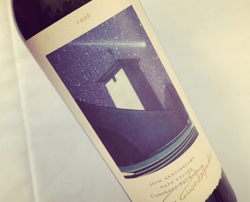 Un Grand vin - Robert Mondavi Cabernet Sauvignon Reserve 1996