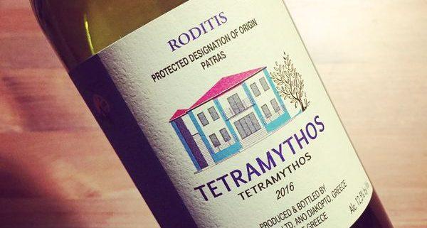 Domaine Tetramythos Roditis Patras 2016