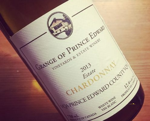 Grange of Prince Edward Estate Chardonnay VQA Prince Edward County 2013