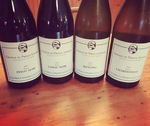 Grange of Prince Edward Select wines