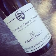 Grange of Prince Edward Select Gamay Pinot VQA Prince Edward County 2014