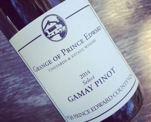 Grange of Prince Edward Select Gamay Pinot VQA Prince Edward County 2014