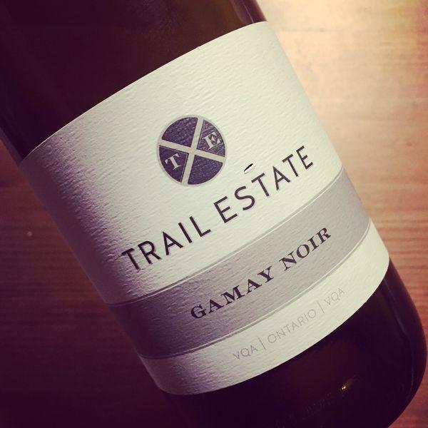 Trail Estate Gamay Noir VQA Ontario 2014