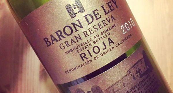 Baron de Ley Grand Reserva Rioja 2010