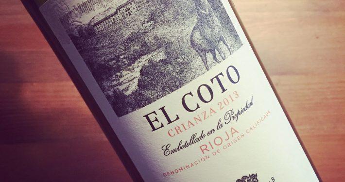El Coto Crianza Rioja 2013