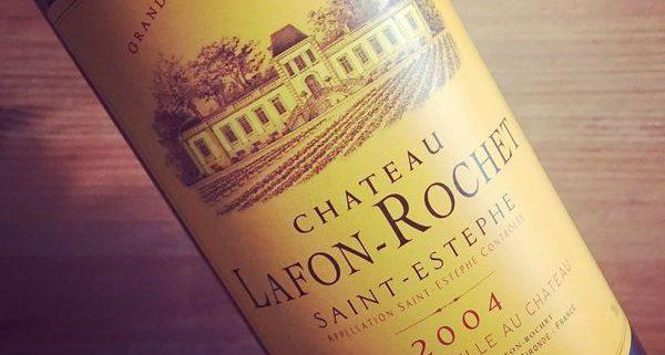 Château Lafon-Rochet 4e Grand Cru Classé Saint-Estèphe 2004