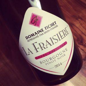 Domaine Fichet Bourgogne Pinot Noir La Fraisière 2014