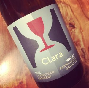 Hill Farmstead Clara Wheat Farmhouse Grisette