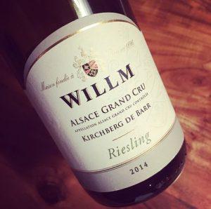 Willm Riesling Grand Cru Kirchberg de Barr Alsace 2014
