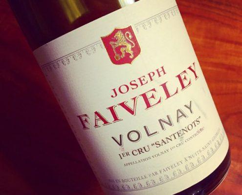 Joseph Faiveley Volnay 1er Cru Santenots 2010