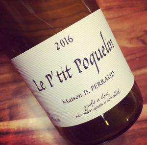 Maison B. Perraud Le P'tit Poquelin Vin de France 2016