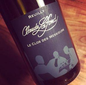 Domaine Claude Lafond Reuilly Le Clos des Messieurs 2016