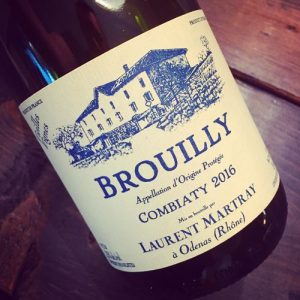 Domaine Laurent Martray Brouilly Vieilles Vignes 2016