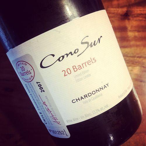 Cono Sur 20 Barrels Chardonnay Casablanca Valley 2007