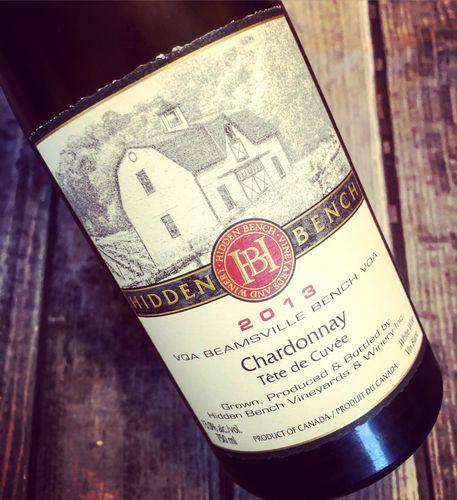 Hidden Bench Chardonnay Tête de Cuvée VQA Beamsville Bench 2013