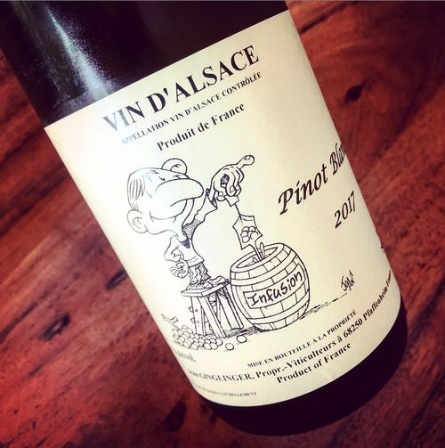Jean Ginglinger Pinot Blanc Infusion Alsace 2017
