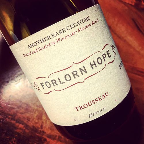Forlorn Hope Another Rare Creature Trousseau 2016