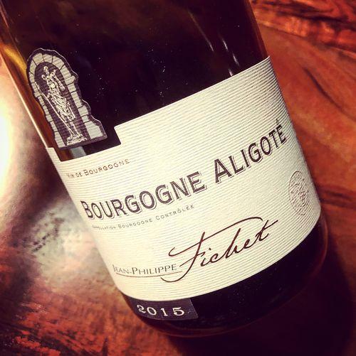 Jean-Philippe Fichet Bourgogne Aligoté 2015