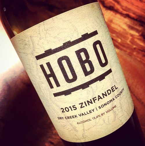 Hobo Wine Company Zinfandel Dry Creek Valley Sonoma 2015