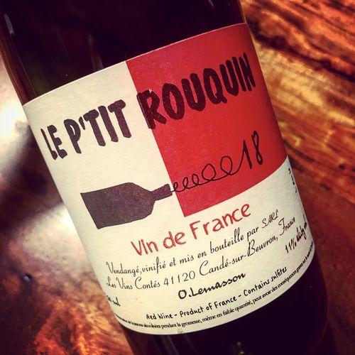 Les Vins Contés (Olivier Lemasson) Petit Rouquin Vin de France 2018
