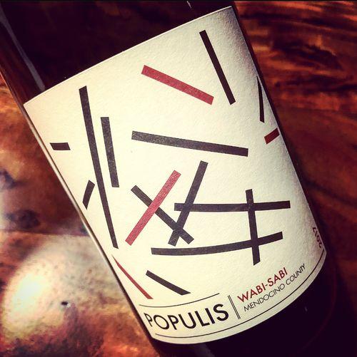 Populis - Les Lunes Wines Wabi-Sabi Mendocino County California 2017