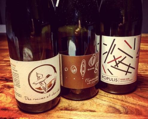 Qu'est-ce qu'on boit? Des vins d'importation privée!