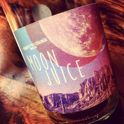 Subject to Change Wine Co. Moon Juice Poor Ranch Mendocino 2018